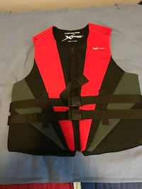 Black and red life vest Gaithersburg, 20879