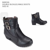 Black Ankle Boots Singapore