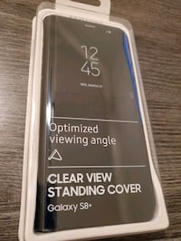SAMSUNG GALAXY S8+ Clear View Standing Cover