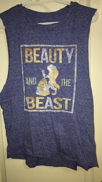 blue and yellow print muscle tee size M Richmond Hill, L4S 3E5