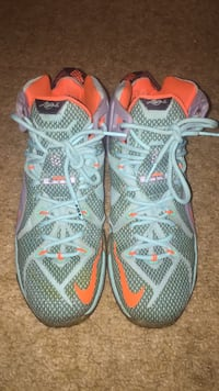 Nike Lebron 12s size 10.5. Worn and little discoloured. Lower Sackville, B4C 2C4