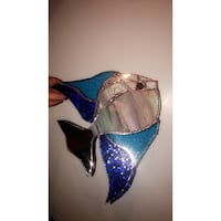 Stainglass tropical fish sun catcher  Mississauga, L4T