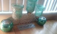 green and clear glass vases Hillcrest Heights, 20748