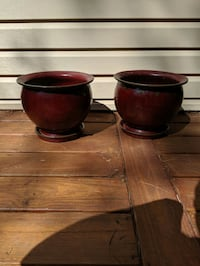 "10"" Ceramic Planters Germantown, 20874"