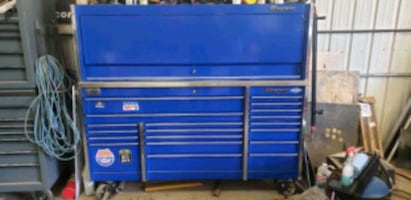Snap on toolbox and hutch