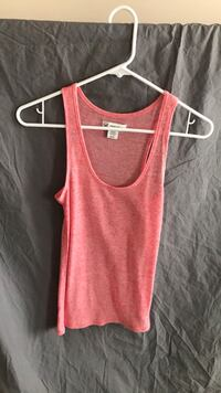 Women's light orange/peach tank top Frederick, 21704