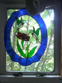 Stained glass humming birds Woodbridge, 22191