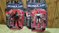Robocop 1.0 and 3.0 figures  Brooklyn, 11218