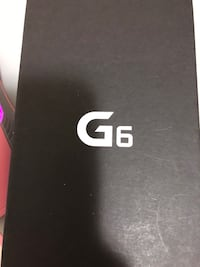 Brand new black LG g6 with all accessories, box not opened. 漢米爾頓, L8S 2K6