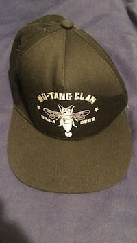 black Wu-Tang Clan fitted cap