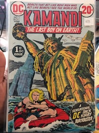 Dc comics Kamandi the last boy on earth #1 San Leandro, 94578