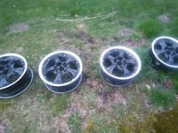 "17"" rims Honda accord bolt pattern obo"