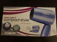 CONAIR Compact Styler / Blow Dryer / Hair Dryer Gaithersburg