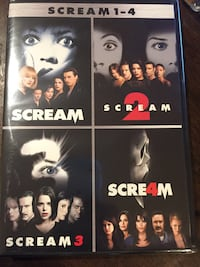 DVD Scream 1-4 Brand New  Fort Washington, 20744