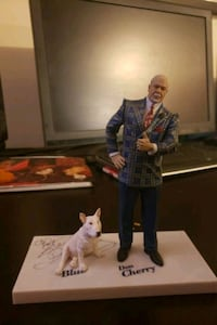 Signed Don Cherry figure Vancouver