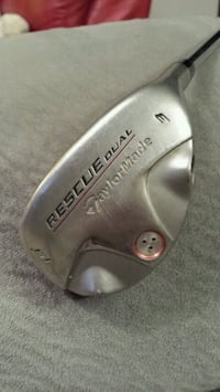 TaylorMade Rescue Dual 3 Hybrid 19* Stiff Steel Shaft Golf Club Whitchurch-Stouffville, L4A 0J5