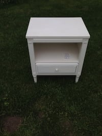 white wooden single-bedside table Surrey, V3S 0M8
