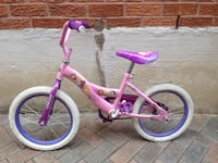 toddler's pink and purple bicycle Richmond Hill, L4B 1W9