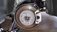 2014 camaro rotors drilled and slotted calipers and breaks  New York, 11208