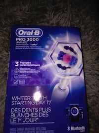 white Oral-B Pro 3000 toothbrush box Kitchener, N2M