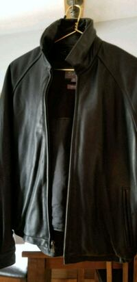 BLACK LEATHER JACKET  Plain City, 43064