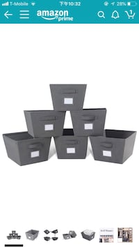 Storage bins(new )