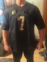 Authentic salute to service Roethlisberger Jersey. Glenshaw, 15116