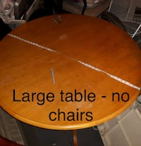 Large dining table , no chairs Kingston, K7K 1B8