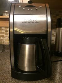 Cuisinart Automatic Grind & Brew Thermal Coffee pot.30.00$ Minot, 58703
