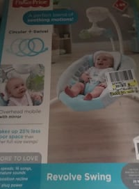 White and blue fisher-price cradle'n swing Sarasota, 34232