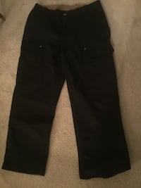 Duluth, 38x32, Black, men's work pants, never worn. Chantilly