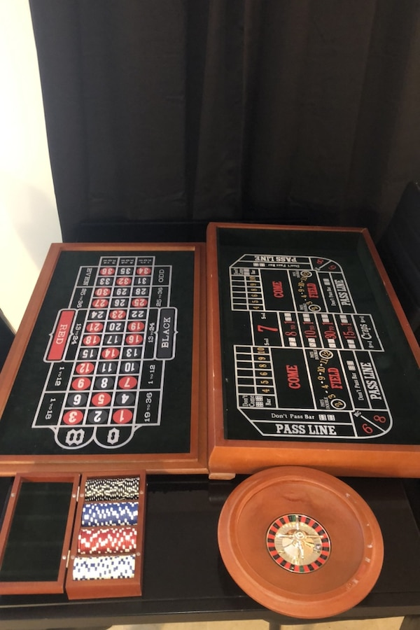 Blackjack table, Roulette and more 0