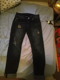 True religion midnight distressed jeans Brand new Airdrie, T4B 3C1