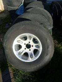 Chevy truck rims tires no good Stephenson, 22656