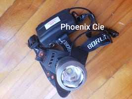 One light/3 modes, head flashlight