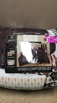 6-piece queen comforter set pack Clarksville, 37042