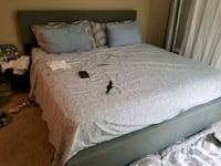 gray and white bed sheet Alexandria, 22315