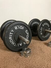 Dumbbells (25lbs each)  Los Angeles, 91606