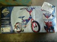 14in boys Spider-Man bicycle brand new