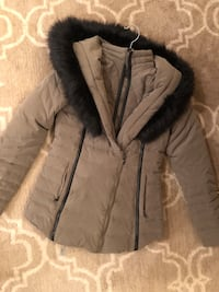Express Women's Winter Coat w/ Faux Fur Easton, 18045