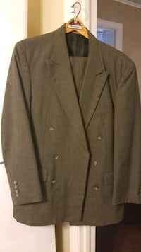 Cellini Black/Brown Sharkstooth Suit Macon, 31204