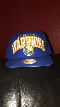 (Mitchell and Ness) Blue and white Warriors SnapBack Watsonville, 95076