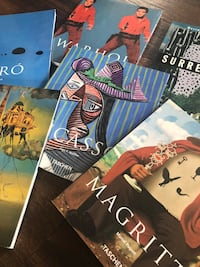 Taschen art history books: Warhol, Miro, Picasso, Magritte, Dali, Surrealism Los Angeles, 90039