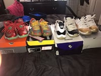 Assorted color air jordan basketball shoes High Point, 27265
