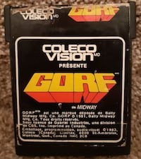 Colecovision GORF Game  Coleco RARE coleco vision  some label damage g Newmarket