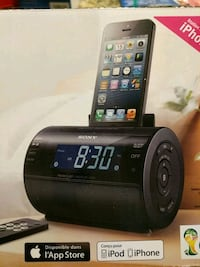 Alarm Clock with iPod dock Manheim, 17545