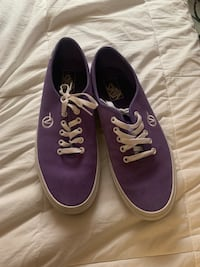 "Purple ""circled v"" vans"