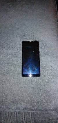 black Samsung Galaxy Android smartphone null
