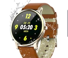 Smart Watch for Android/iPhone, Heart Rate, Notifications NEW 1/2PRICE