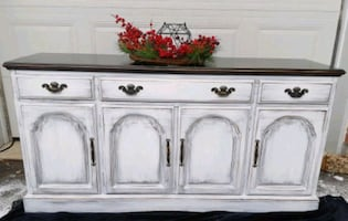 MAGNIFICENT wood buffet, tv stand or entrance table